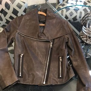 Andrew Marc leather jacket